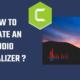 Audio- Visualizer (spectrum)