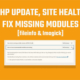 How to improve WordPress site health