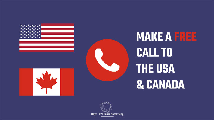 How to make a free call to the USA and Canada