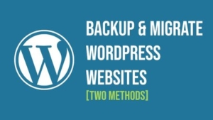 Backup and Migrate (or transfer) WordPress Websites using WordPress logins (only) or using cPanel