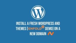 How to register a new domain and install WordPress & themes (and import theme's demo)