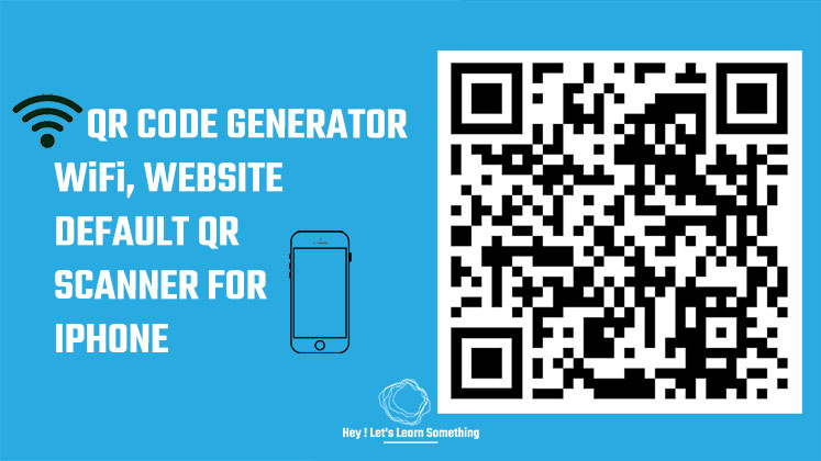 QR code for Website & Wi-Fi