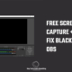 OBS - Free screen recorder for windows 10 PC | OBS display capture black screen fix | 2021