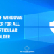 disable or turn off windows defender