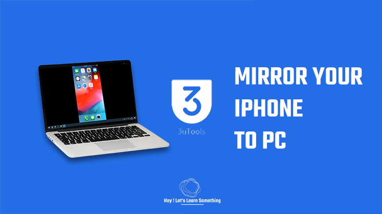 How to Mirror iPhone to PC | Free | 2021