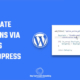 How to activate plugins via codes - WordPress