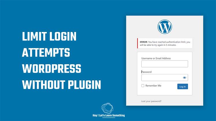 Limit Login access WordPress